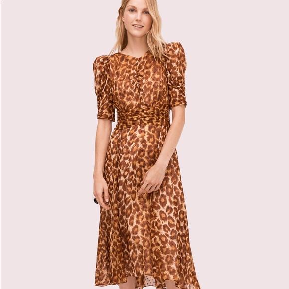kate spade Dresses & Skirts - Kate Spade Panthera Clip Dot Dress. Size 0.